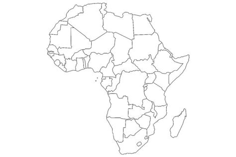 africa map blank 17 blank maps of the u s and other countries