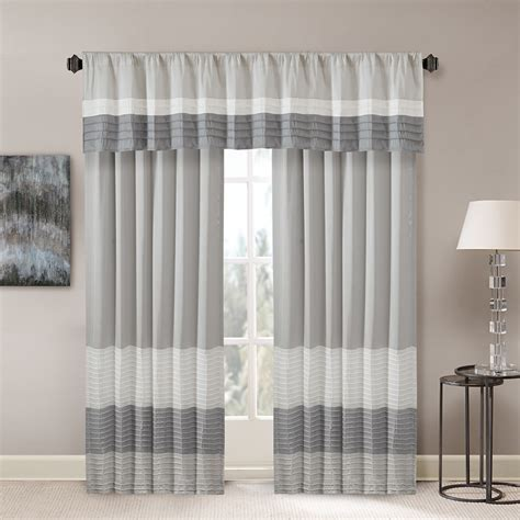 pintuck drapes madison park amherst polyoni pintuck window curtain ebay