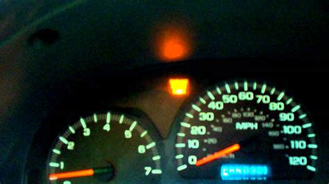 chevy trailblazer check engine light flashing