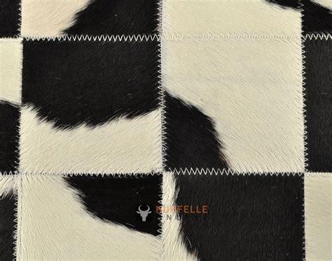 schwarz weiß teppich kuhfell teppich schwarz weiss 200 x 140 cm patchwork