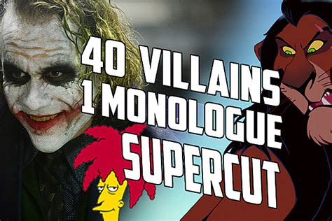 epic film monologues watch a supercut of 40 different movie villain monologues