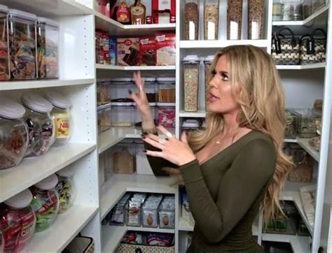 khloe kardashian organization khloe kardashian s pantry will give you all the