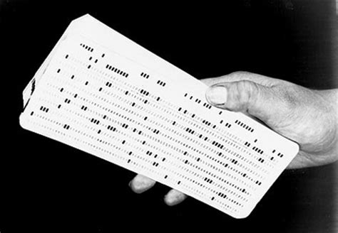 how to make punch cards about the computer history museum s ibm 1401 machines