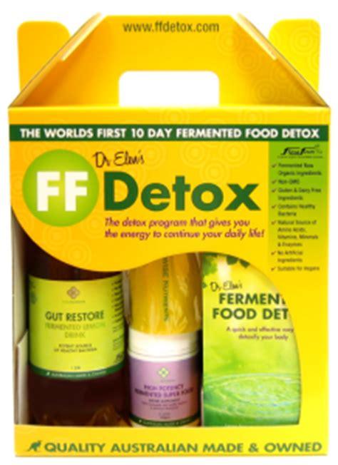 10 Day Detox Supplement Kit Pregnancy by Ffdetox Complete Kit Ff Detox Fermented Food Detox