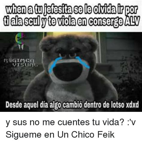 no me cuentes tu 25 best about lotso lotso