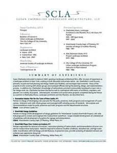 Landscape Architecture Objectives Landscape Architect Resume Objective