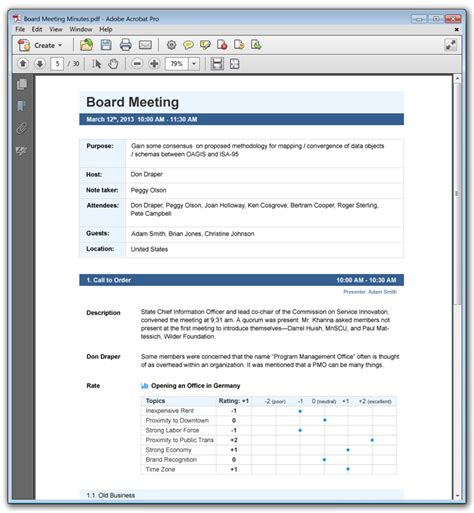 how to take minutes at a board meeting template doc 12751650 minutes format template 7 exles of