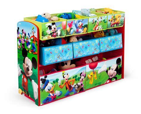 toy organizer disney mickey mouse deluxe multi bin toy organizer baby