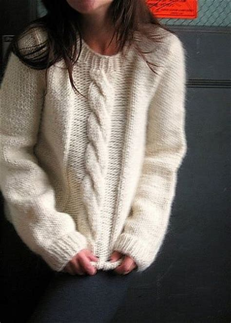 free cable knit sweater free pattern big cable pullover knit sweaters