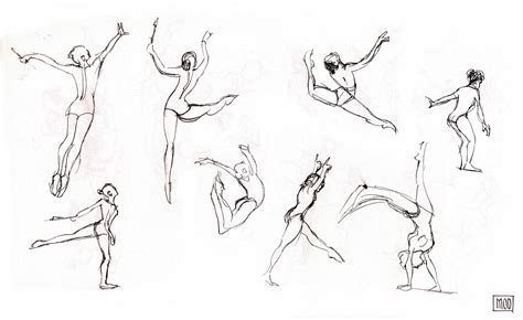 Sketches Poses by My Own Dump Sketches Rhythmic Gymnastics Poses