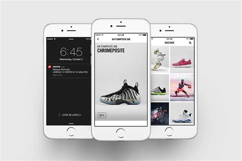 sneaker collection app nike launches snkrs sneaker app hypebeast