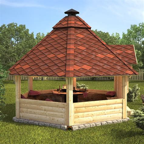 Log Cabin Barbecue by Wooden Bbq Hut Grill House Grillkota Barbecue Winter