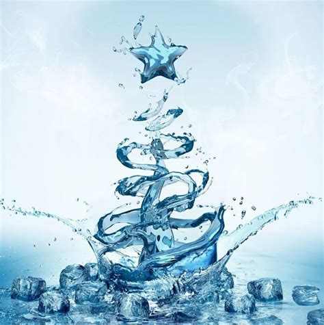 christmas tree water victoria b