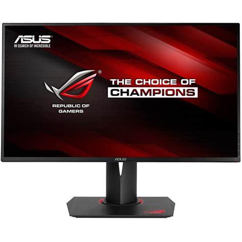 Asus Rog Monitor Led 24 Quot asus rog pg279q 27 quot wqhd ips g sync 165hz gaming