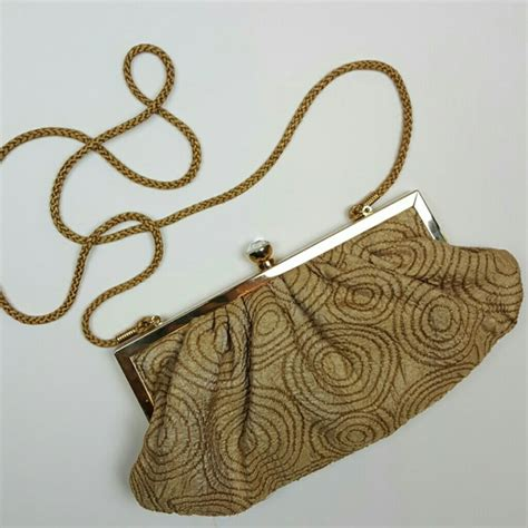 Chanel Kate Bosworth And Chanel Clutch Evening Bag by 63 Kate Landry Handbags Gold Evening Clutch Handbag