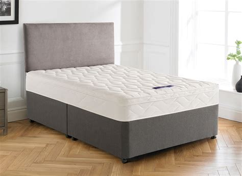 divan beds with headboards silentnight westland miracoil divan bed medium firm