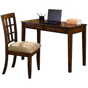Writing Desk Chair by Craftsman Writing Desk And Chair Value Bundle Oak