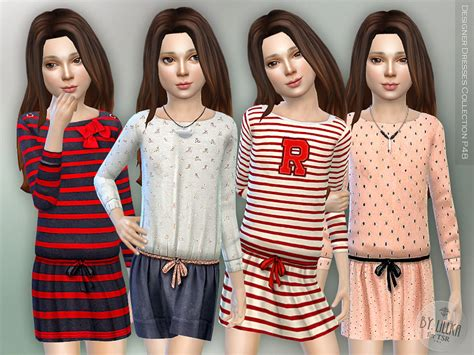 design clothes the sims 4 lillka s designer dresses collection p48