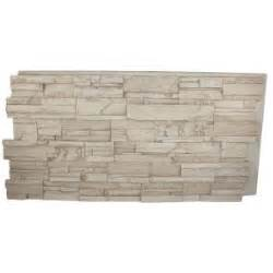 faux panels home depot superior building supplies beige 24 in x 48 in x