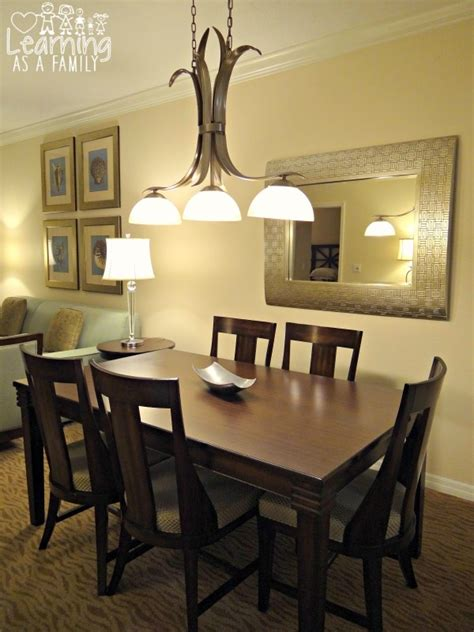 The Dining Room Sheraton by A Look Inside A Two Bedroom Villa At Sheraton Vistana