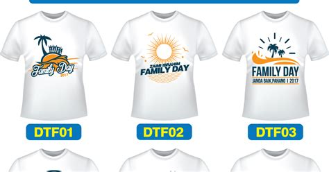 design baju family day 2017 design baju t shirt family day