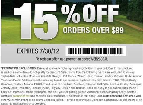 carl's golfland coupon code free shipping