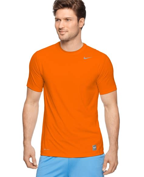 Tshirt Nike Run B 03 nike orange dri fit shirt