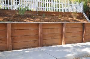 Design For Diy Retaining Wall Ideas How To Build A Retaining Wall The Basic Woodworking