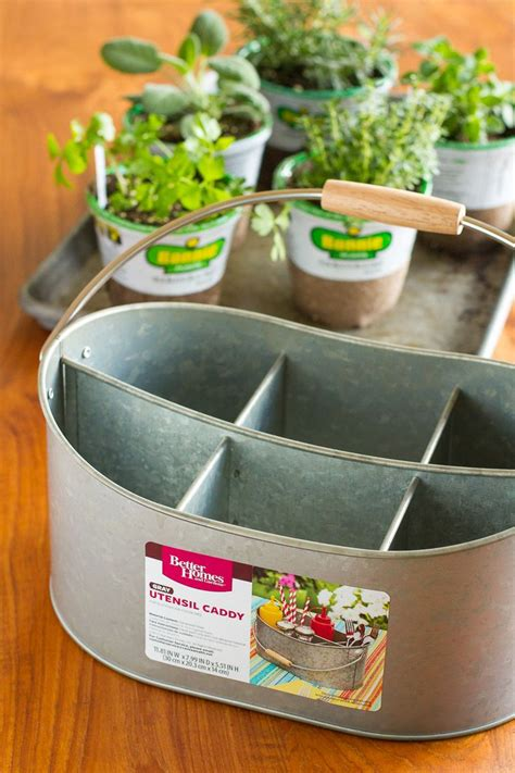 herb planter indoor easy indoor herb garden simple 10 minute diy project