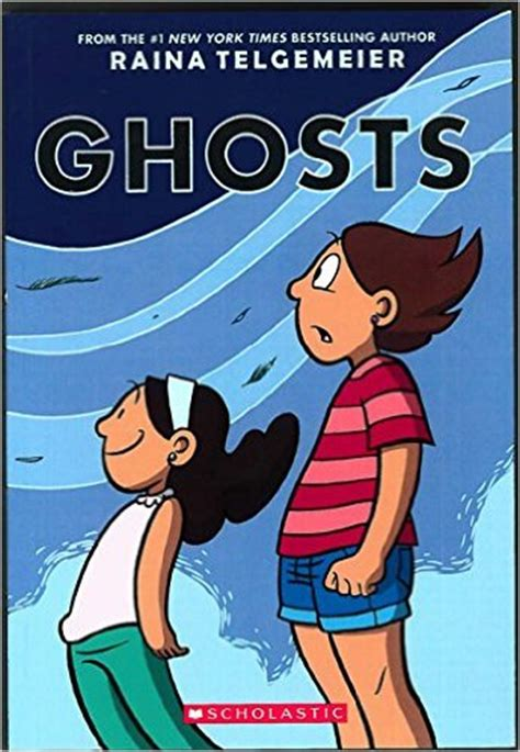 two haunted hearts a paranormal books ghosts by raina telgemeier may not offer big scares but