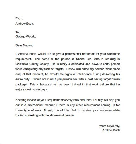 Business Letter Writing Scenarios Sle Professional Business Letter 6 Documents In Pdf