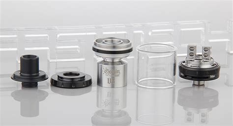 Goblin Mini V3 Rta Authentic By Youde 21 40 authentic youde ud goblin mini v3 rta rebuildable tank atomizer 2ml stainless steel