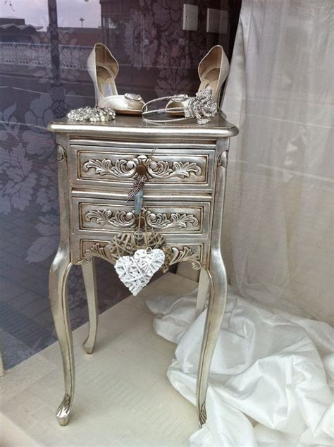 25 best ideas about silver painted furniture on silver paint metallic dresser and