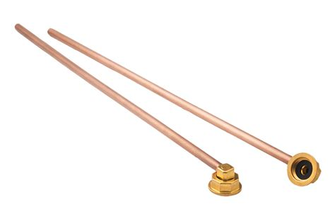 Copper Faucet Supply Line by 21 440l Copper Water Line Kits E Z Install