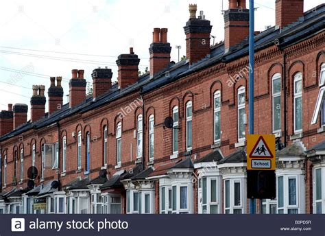houses to buy in birmingham west midlands terraced housing small heath birmingham west midlands england uk stock photo