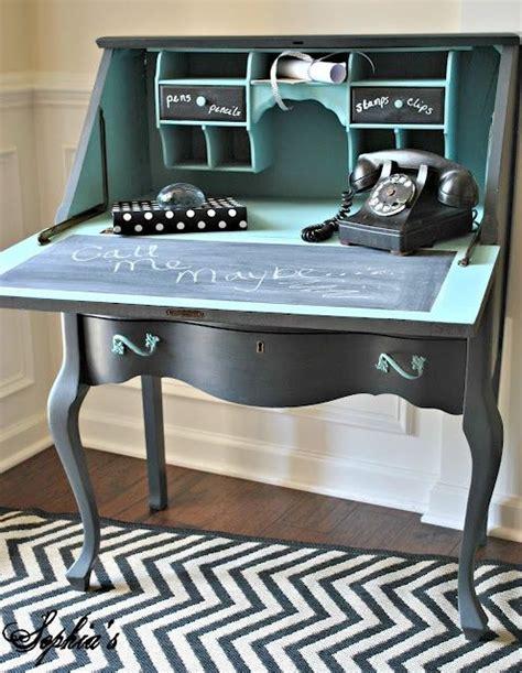 chalk paint desk ideas 17 best images about desks secretaries chalk paint