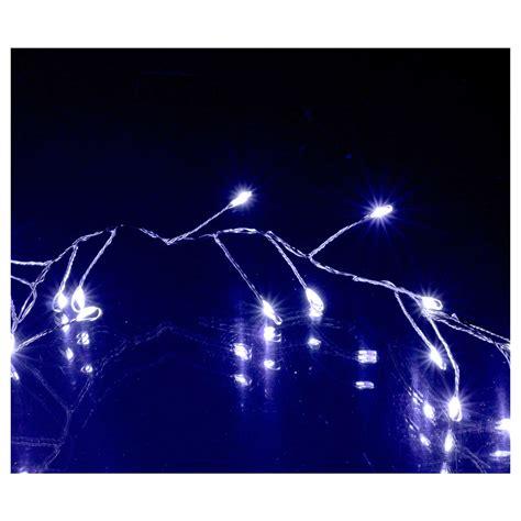 freddo interno ghirlanda luminosa 100 micro led bianco freddo interno
