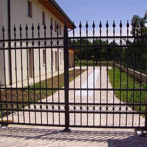 ringhiera in ferro zincato cancello in ferro zincato cancelli ringhiere recinzioni