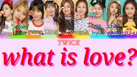 twice what is love lyric teaser1 twice what is love 파트별 가사 lyrics color coded