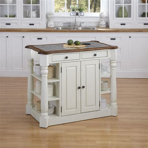 What To Put On A Kitchen Island Buy Americana Granite Kitchen Island