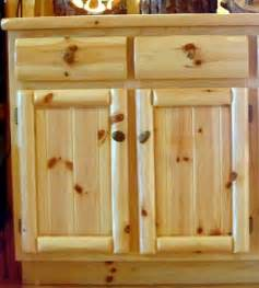 Pine Kitchen Cabinet Doors Knotty Pine Cabinets And Kitchens
