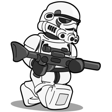 lego stormtrooper coloring page free coloring pages of la trooper