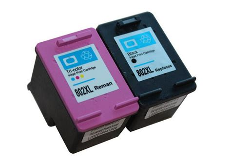 Hp 802 Xl Black Limited 2017 for hp 802 802xl ink cartridge black and color ch563zz ch564zz for hp1000 hp1050 hp2050 ink