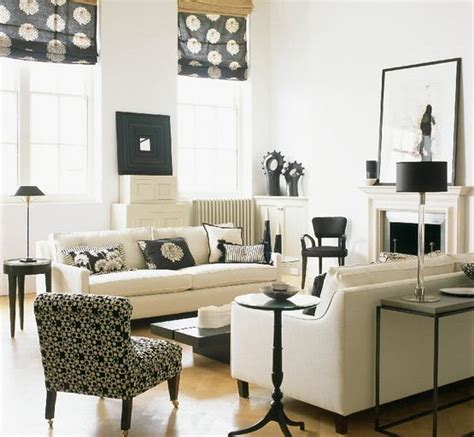 black and white living room decor ideas s 233 jour avec meubles style louis philippe