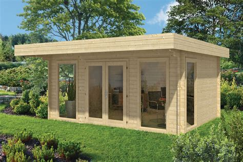 garten blockhaus yorick garden office log cabin