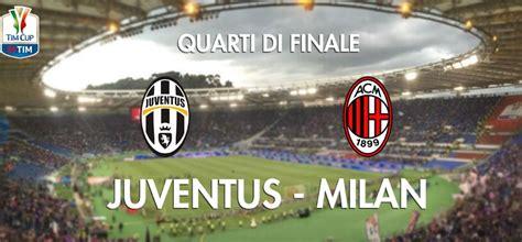 partite juventus in casa partite in tv oggi coppa italia su rai1 c 232 juventus
