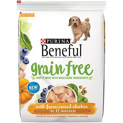 puppy food without chicken 187 purina beneful grain free with real farm raised chicken food 1