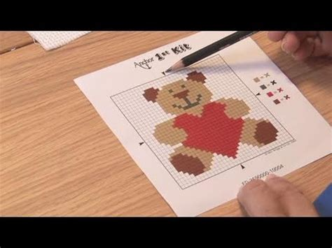 pattern maker for cross stitch youtube how to start a cross stitch pattern youtube