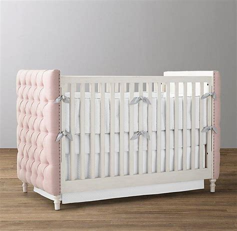 Catalina Cottage Crib Pottery Barn Kids Tufted Baby Crib