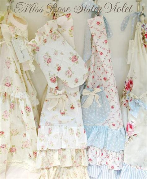 17 best images about shabby chic aprons and kitchen linens on pinterest cabbage roses